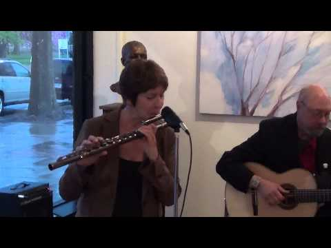 Flutist, Ali Ryerson and guitarist, Joe Carter live @226, Windsor, CT Saturday May 10, 2014