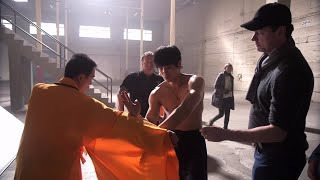Philip Ng channels Bruce Lee in WWE Studios'