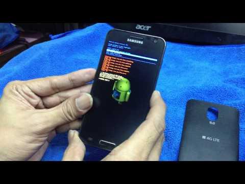 Hardreset Samsung 4G LTE SHV E120S