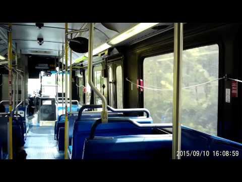 VIA bus route 641 in San Antonio, Texas on Thursday September 10, 2015