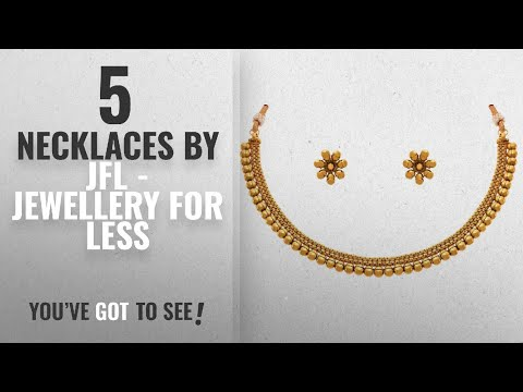 Top 10 Jfl - Jewellery For Less Necklaces [2018]: Jfl - Jewellery For Less Traditional Ethnic One
