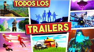 🔥 Todos Los Trailers De Fortnite (Temporada 1 - 8) (En 1 Video)
