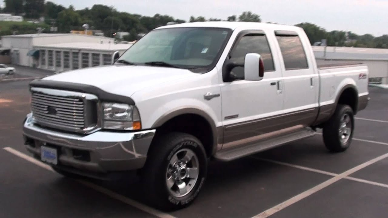 2015 Ford F150 King Ranch >> FOR SALE 2004 FORD F-350 KING RANCH!!! ONLY 37K MILES!! STK# P5741 www.lcford.com - YouTube