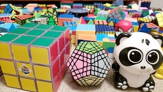 My Rubik's Cube Collection (158 Puzzles!!) | End of 2018