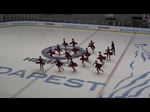 Budapest Cup 2018 - Team Berlin 1 (GER) Senior Short Program