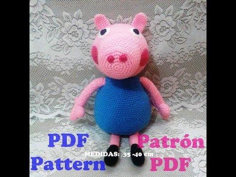 Amigurumi for Beginners Tutorial Peppa Pig Amigurumi | How to ... | 360x480