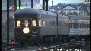 C&O 614 Steam Engine at Hoboken 6-07-1997 Part 1