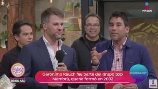 """Actuación de Gerónimo Rauch en """"Sale el Sol"""""""