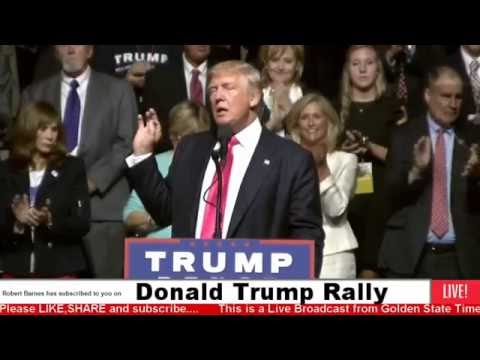 AMAZING:Donald Trump and Nigel Farage Rally from Jackson, MS
