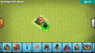 Clash of Clans Town Hall 7  Defence (CoC TH7) BEST Trophy Base Layout Defense Strategy