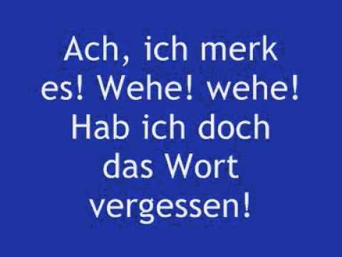 Junge Dichter und Denker : Der Zauberlehrling (Johann Wolfgang von Goethe)
