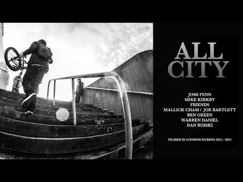 ALL CITY BMX DVD LONDON