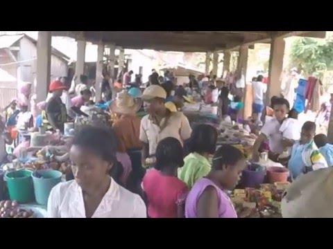 Market day in Vondrozo, Madagascar