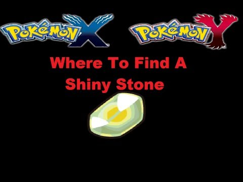 Where To Find a Shiny Stone In Pokemon X and Y - YouTube