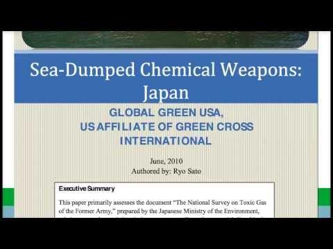 JAPAN/US post WWII Dumps TONS of TOXIC CHEMICALS in PACIFIC OCEAN, LAKES, RIVERS!!!!