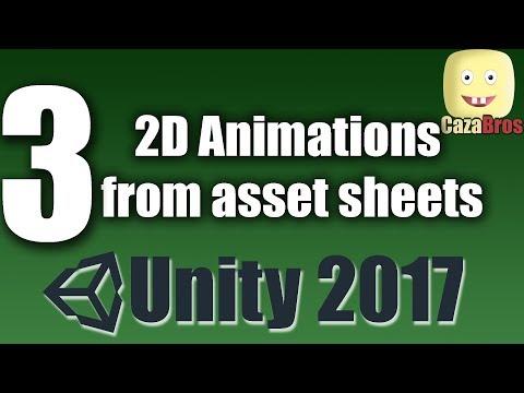 Asset Sheet  2D Animation Unity Part 3/3