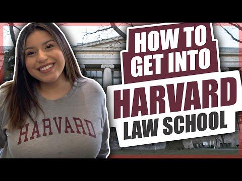 HOW TO GET INTO HARVARD LAW SCHOOL
