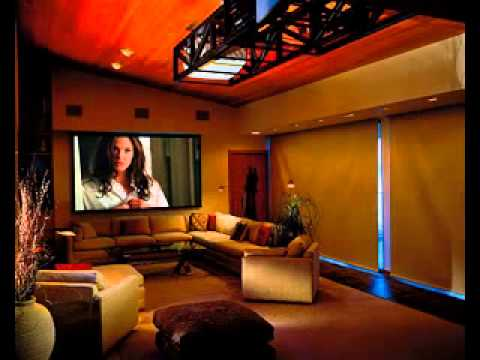 Western theme home theater design