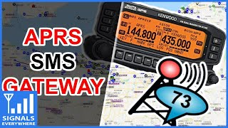 APRS to Text Message Gateway