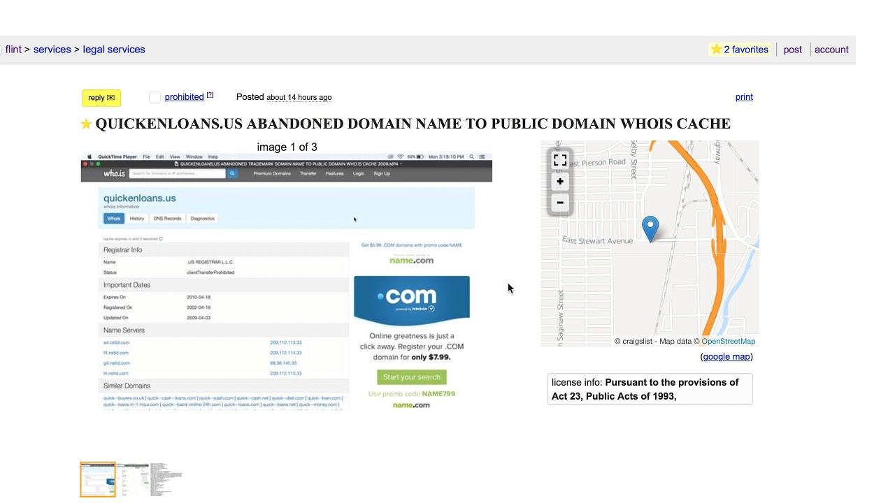 Us Abandoned Domain Craigslist Https Youtu Be Ucumgdqns