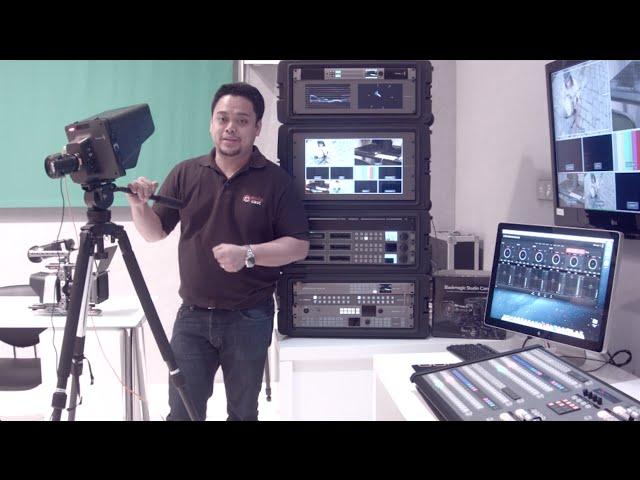 Blackmagic Design Atem Software Control V 6 0 Youtube