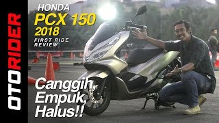 Video All New Honda PCX 150 2018 First Ride Indonesia | OtoRider download MP3, 3GP, MP4, WEBM, AVI, FLV September 2018