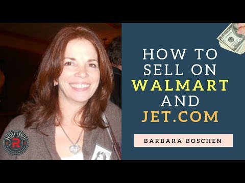 Diversifying Your Business Beyond Amazon – How To Sell on Walmart & Jet.com With Barbara Boschen