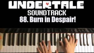 Undertale OST - 88. Burn in Despair! (Piano Cover by Amosdoll)