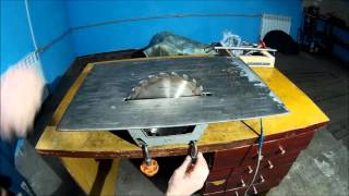 Дисковая электропила ИЭ 5107А обзор. Ретро инструмент СССР. Disc saw. Retro tool of the USSR.