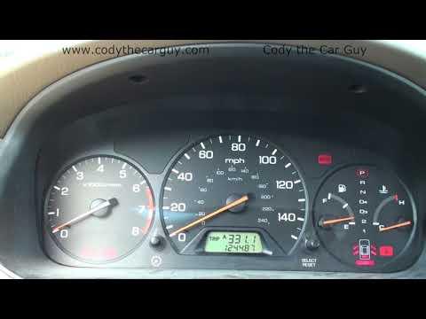 Honda Accord Flashing Maintenance light reset