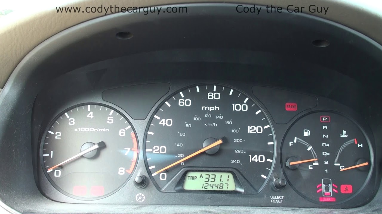 Honda Accord Flashing Maintenance Light Reset