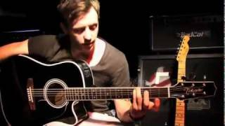McFly Danny Jones Lessons guitar Falling in love
