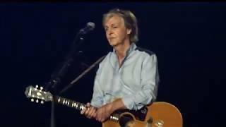 Paul McCartney - Yesterday - Freshen Up Tour 2018 Quebec