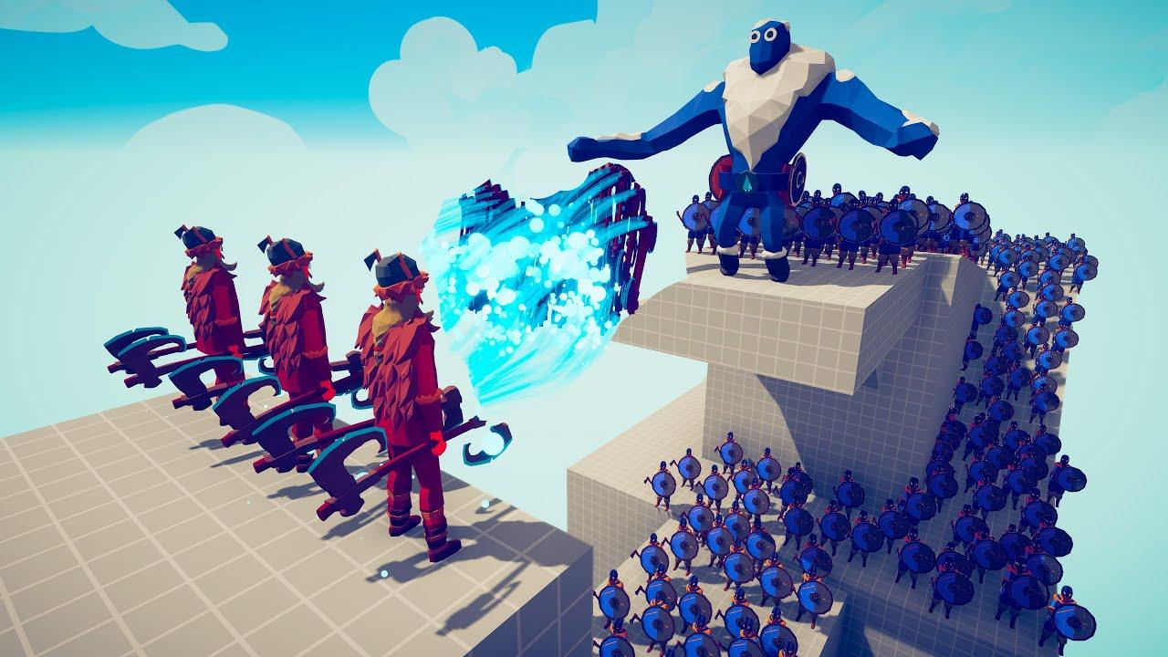 3x ULLR GOD vs 100x UNIT | TABS - Totally Accurate Battle Simulator