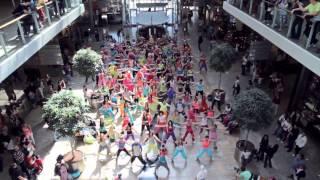 First Slovak ZUMBA® Flash Mob Dance (19.05.2012 Aupark Bratislava)