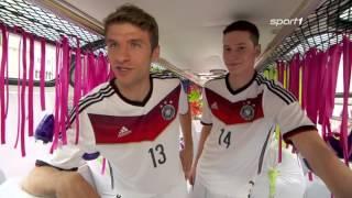 Müller und Draxler überraschen Fans