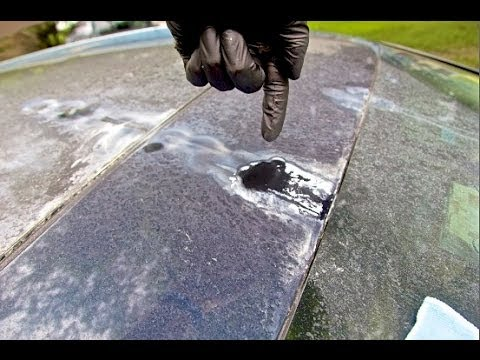 How To Remove Water Spots And Calcium/Lime Deposits Audi Q7