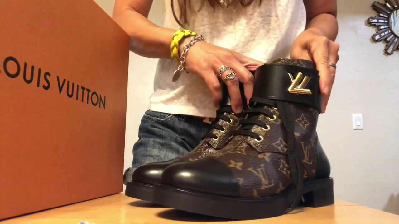 103e9100bc1a Louis Vuitton Wonderland Ranger Boot Unboxing - YouTube