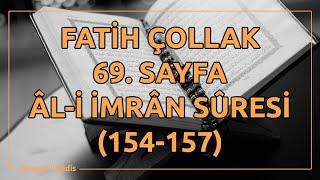 Fatih Çollak - 69.Sayfa - Âl-i İmrân Suresi (154-157)