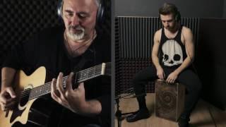Shape Of You - Ed Sheeran Fingerstyle Guitar & Cajon Cover - Igor & Slava Presnyakov