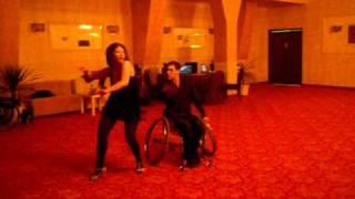 Alina Duma ZUMBA® Cipri wheelchair dance! push it
