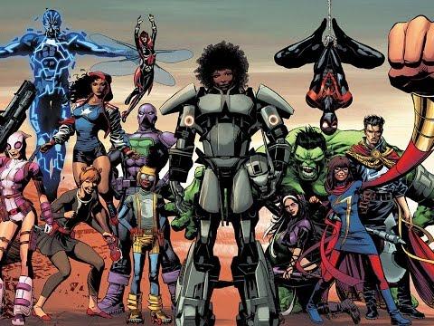 Marvel Comics : Comics or Politics. PICK ONE