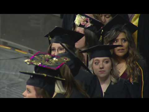 2018 Spring Commencement - Fairmount College of Liberal Arts and Sciences / College of Fine Arts