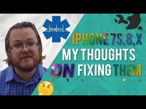 Iphone Iphone 7s Iphone My Opinions And Thoughts On Refurbishing And Fixing Them