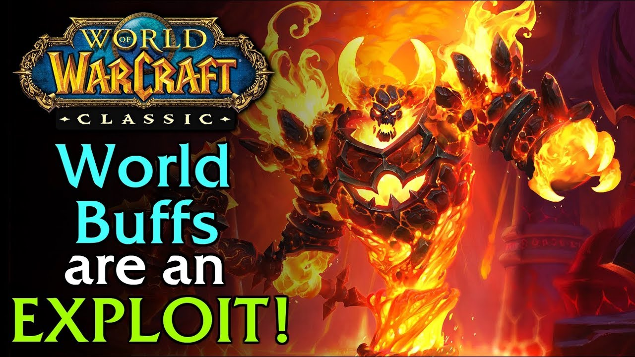 The impact of world buffs • WoW Classic • Barrens Chat
