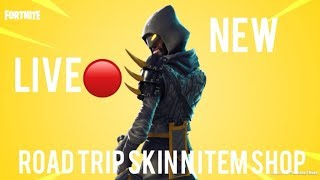 💥FORTNITE NEW RAVAGE SKIN - IRON BREAK UNLOCK NEW ROAD TRIP SKIN LET GET HYPE💥FACECAM💥