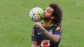 Marcelo  Skills Tricks Goals Freestyle in Training