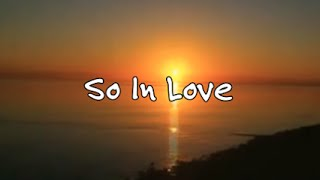 So In Love - Curtis Mayfield