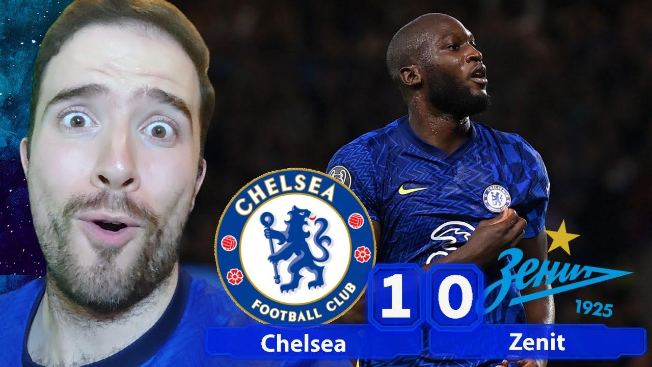 LUKAKU IS ON FIRE! Chelsea Have A Striker In The House! | Chelsea 1-0 Zenit St Petersburg