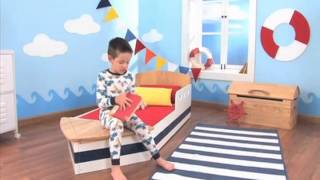 Ababy.com- Boat Toddler Bed